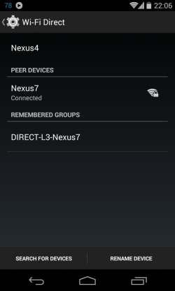 Wi-Fi direct 4