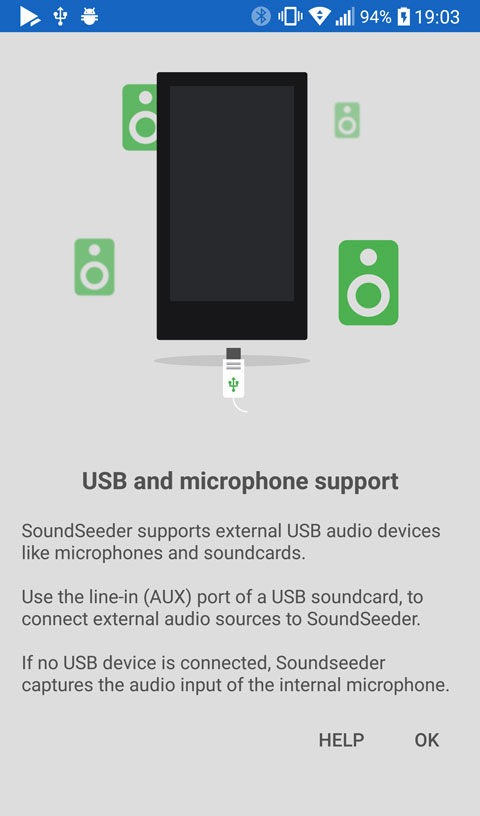 android usb audio