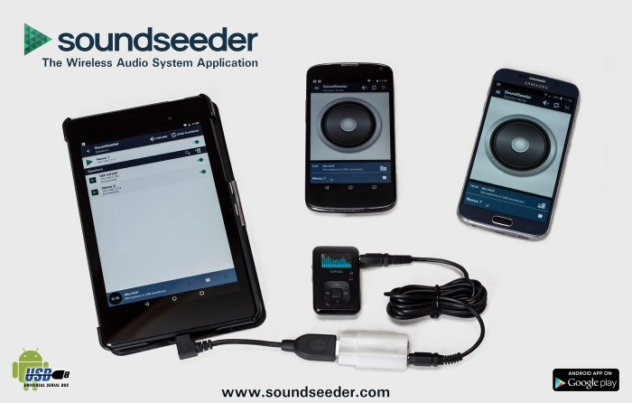 android usb audio with soundseeder