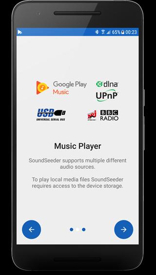 Google Music, DLNA, Online Radio support