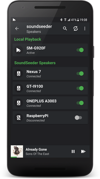 FAQ - soundseeder com | Play music simultaneously on